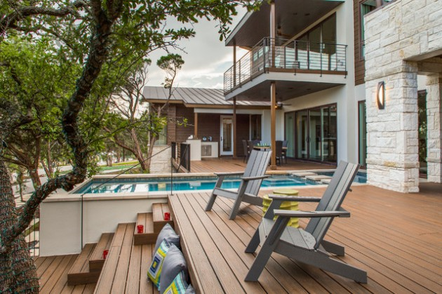 16 Outstanding Transitional Deck Designs That Will Inspire You