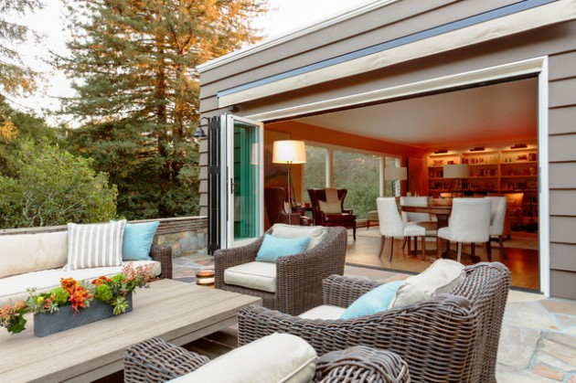 16 Superb Transitional Patio Designs You Will Immediately Fall For