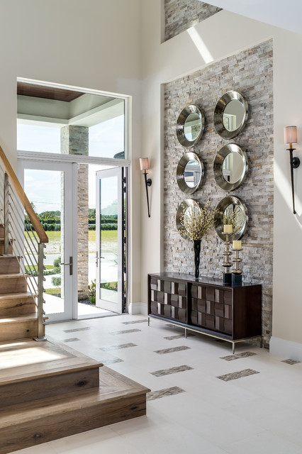 17 Fabulous Transitional Entry Hall