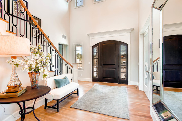 Hampton Home By Copperleaf Homes. 17 Fabulous Transitional Entry Hall  Designs ...