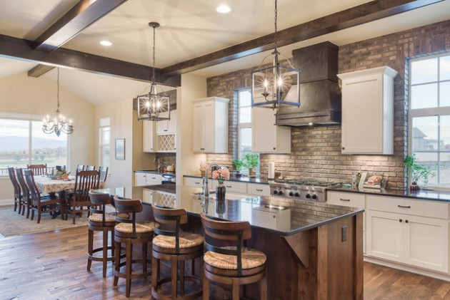 Stone Backsplash Kitchen gorgeous kitchens with natural stone backsplash