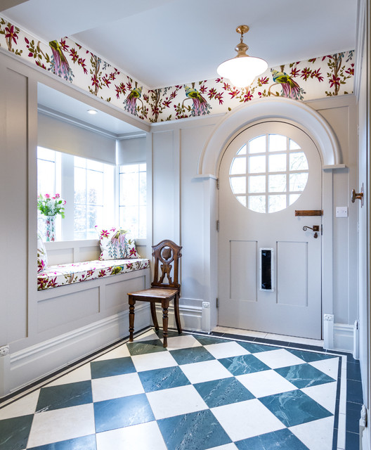 18 Attractive Eclectic Entry Designs That Will Always Greet You