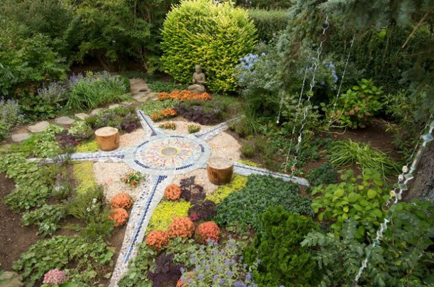 18 Captivating Eclectic Landscape Designs For Your Garden