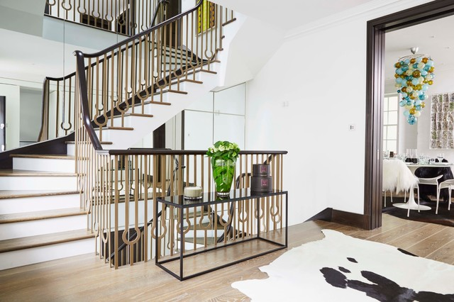 18 Dazzling Transitional Staircase Designs You Re Going To