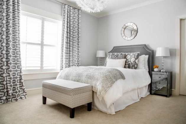 19 beautiful bedroom designs with grey walls Beautiful grey bedrooms