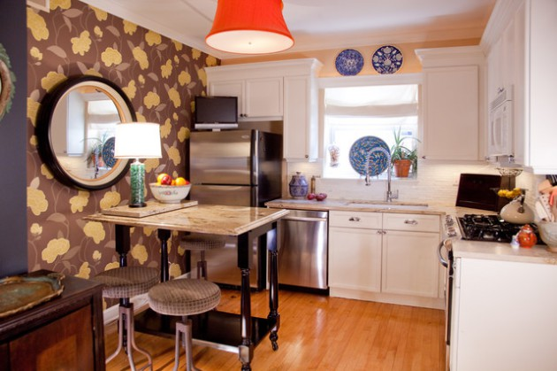 16 Awesome Small Kitchen Designs For Everyone Who Love To Cook