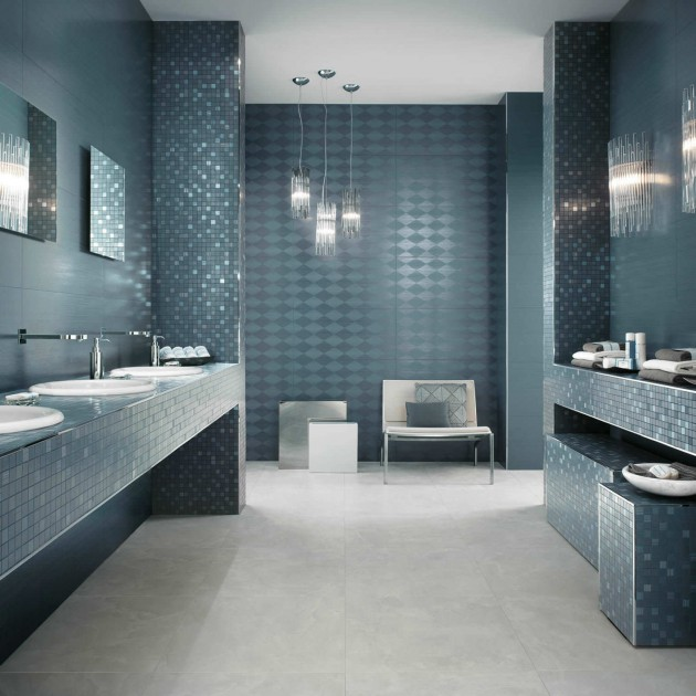 Make Your Bathroom Beautiful Using Fascinating Mosaic Tiles