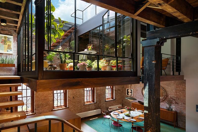 Warehouse Loft Apartment Exterior Home Design Ideas