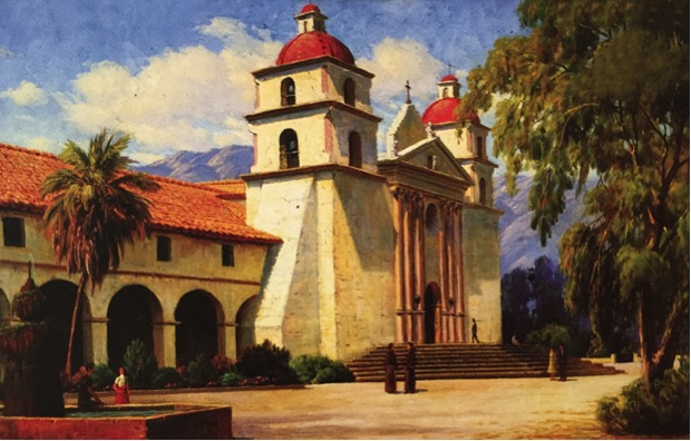 Romantic Inspiration from California Missions