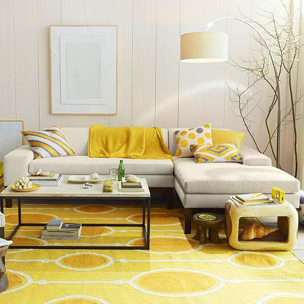 Home Design Ideas For Small Apartments: 16 Imposant Ideas To Use Yellow In Your Interior Design