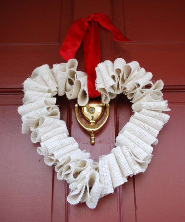 Bathroom Ideas: 17 Fabulous DIY Valentine's Day Wreath Designs To Adorn