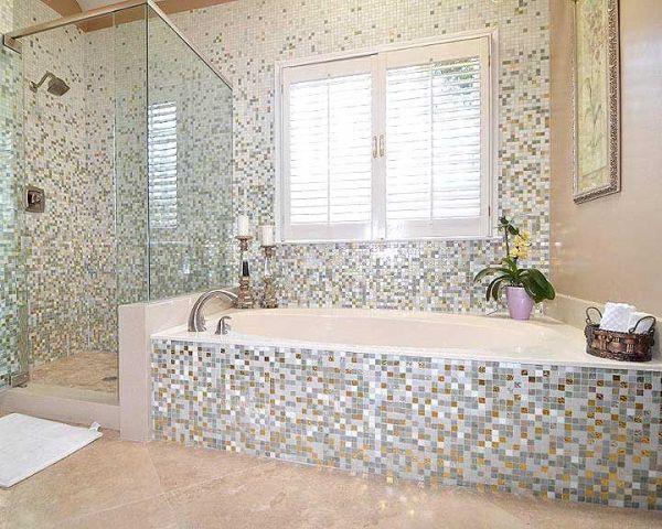 Mosaic Tiles In Bathrooms Ideas