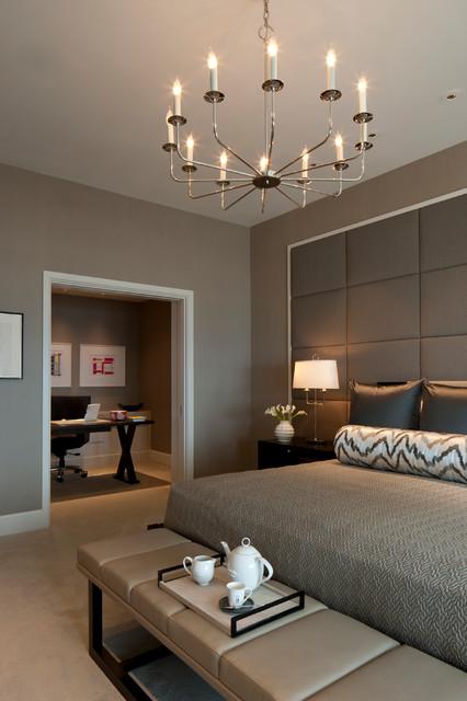 Bedrooms With Grey Walls