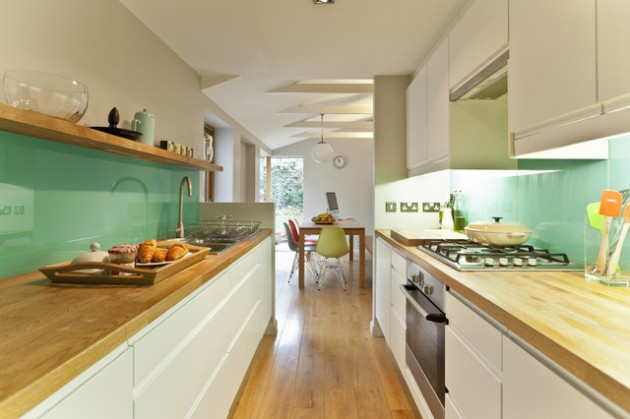 19 Ultra Clever Ideas To Decorate Narrow Kitchen
