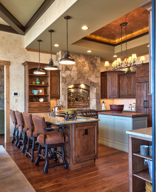 18 Gorgeous Kitchens With Natural Stone Backsplash