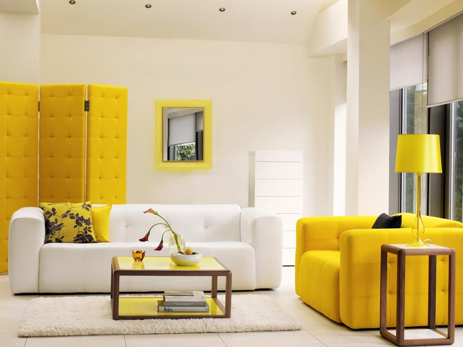 Use Yellow In Your Interior Design