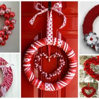 17 Fabulous DIY Valentine's Day Wreath Designs To Adorn Your Front Door