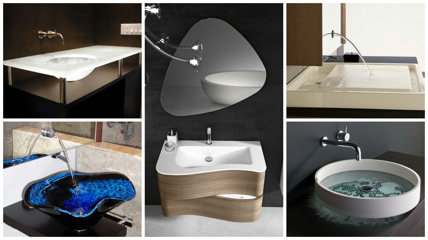 15 extraordinary bathroom sink designs that will beautify