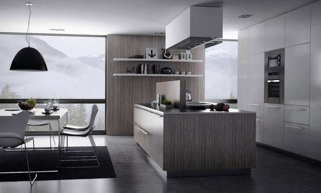 15 Divine Grey Kitchen Designs In Contemporary Style