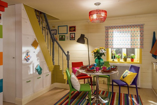 17 Cool Colorful Dining Rooms With Eclectic Influence