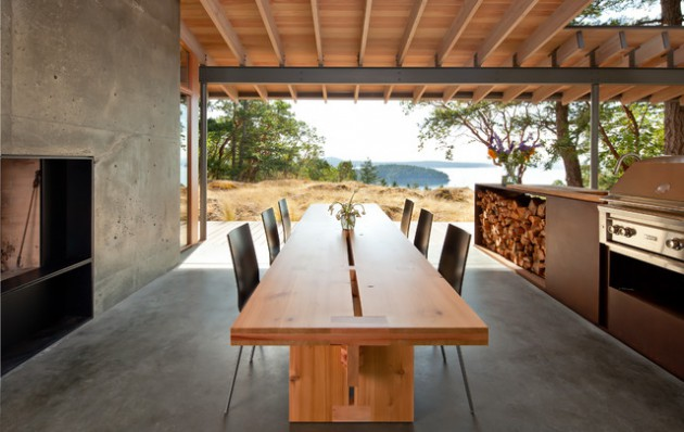 15 Captivating Outdoor Dining Rooms That Abound With Charm & Elegance