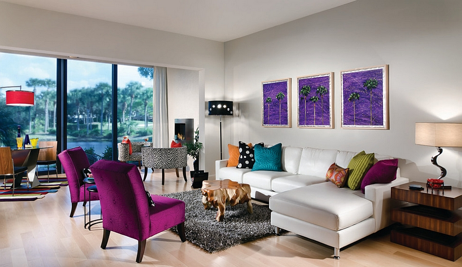 colorful living room Archives - Architecture Art Designs