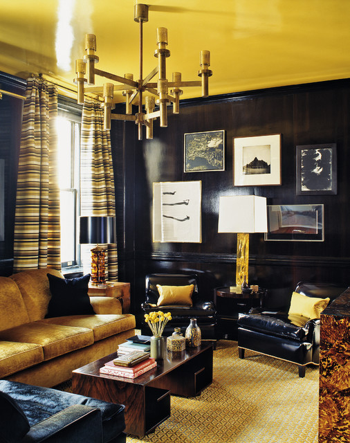 17 Bespoke Black & Gold Interiors That Steal The Show
