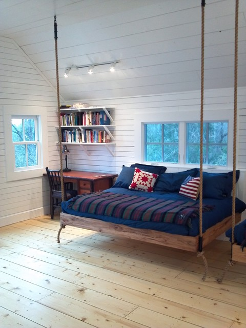 20 Cool Hanging Bed Designs To Provide You Extra Pleasure & Enjoyment