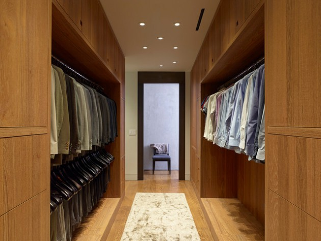 18 Stylish Walk-In Closets For Every Modern Man