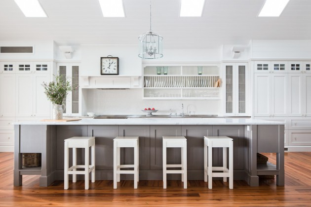 17 Charming Single Wall Kitchen Designs That Surely Will Delight You
