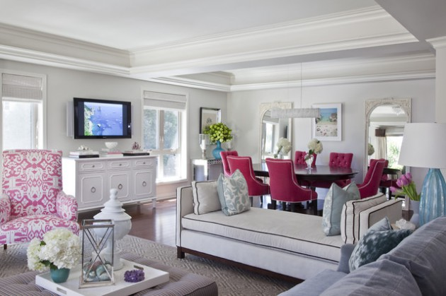 16 Delightful Interior Designs With Accent Chairs