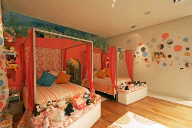 18 Marvelous Ideas For Decorating Bedroom For Twins Properly