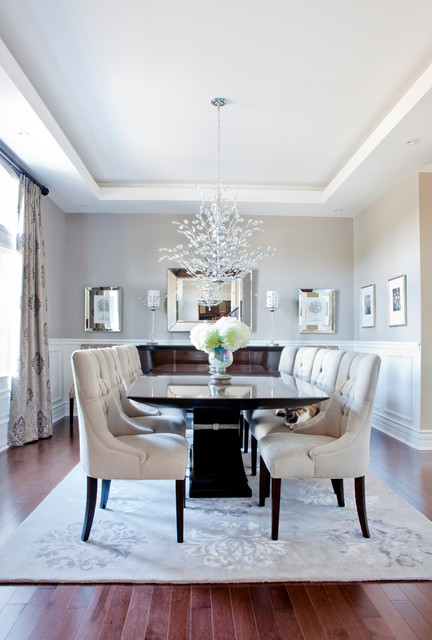 18 Beautifully Decorated Dining Rooms To Serve You As Inspiration