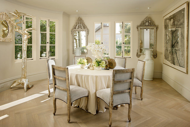 15 Dapper Shabby Chic Dining Room Interior Designs For Your Home