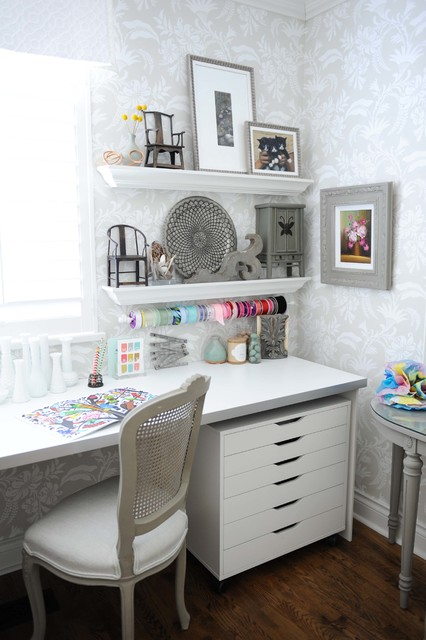Shabby Chic Home Office Designs That