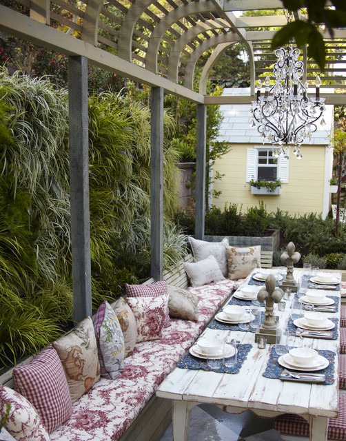 16 Snug Shabby Chic Patio Designs That Will Transform Your ... on Chic Patio Ideas id=43212