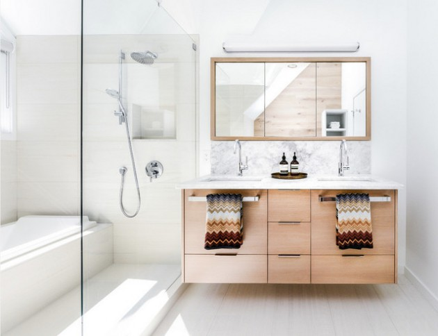 16 Spectacular Scandinavian Bathroom Interiors Youre Gonna Adore