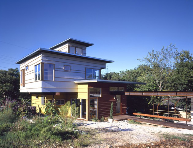 16 Unusually Cool Eclectic Home Exterior Designs You'll Be Interested In – Part 2