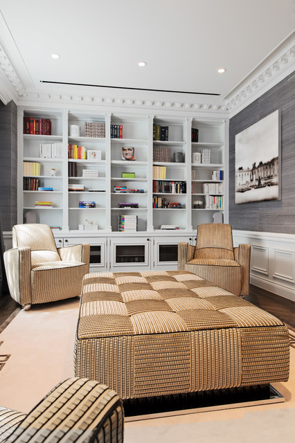 17 Gorgeous Built In Home Library Designs That Will Attract Your Attention