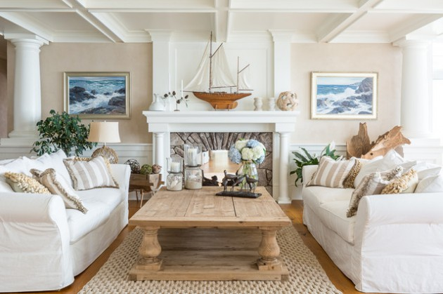 19 Original Ideas To Decorate Your Living Room In Beach Style