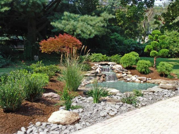 Japanese Garden Front Yard Fence