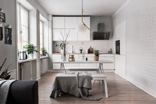 17 Exceptional Scandinavian Kitchen Interiors Every Gourmet Would Love