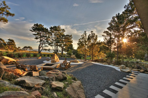 18 Beautiful Landscape Designs With Rocks & Stones