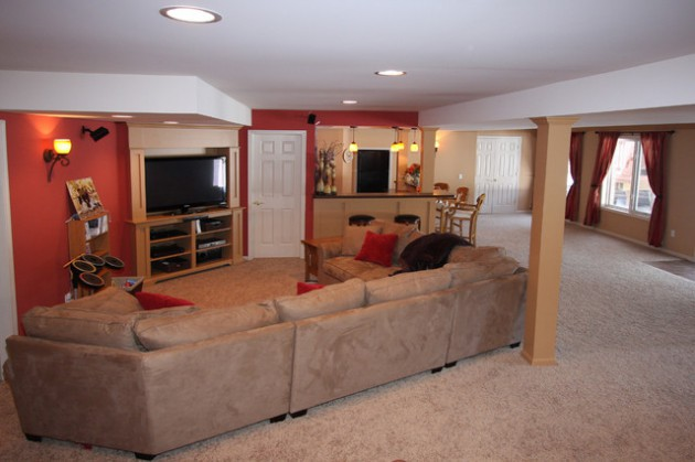 Top 18 inexpensive ideas for basement remodeling that everyone need to see - Cheap finished basement ideas ...