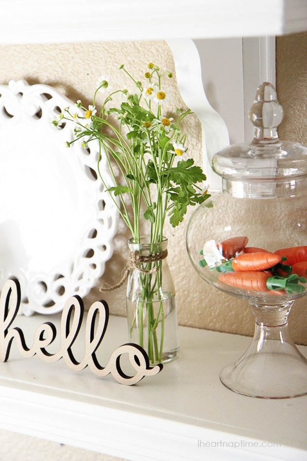 Seasons Of Home Easy Decorating Ideas For Spring: 20 Dashing & Inexpensive DIY Spring Decorations To