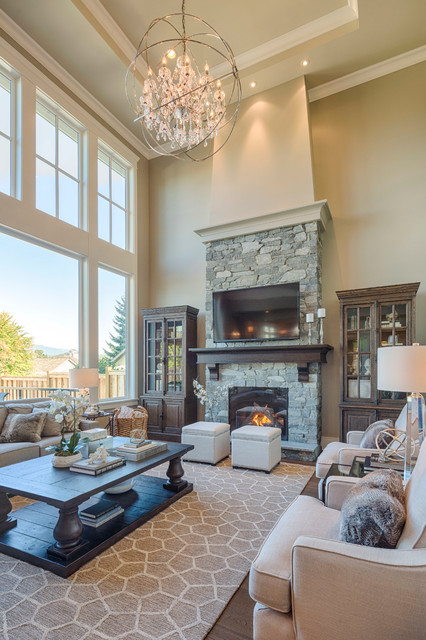 17 Appealing Living Room Designs Decorated In Traditional Style
