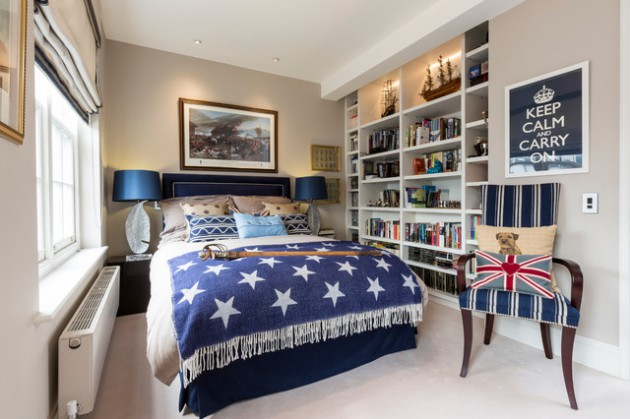 16 Simple & Cute Teen Room Designs For Boys