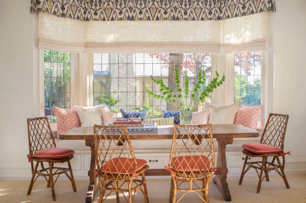 17 Stylish Dining Room Designs In Mediterranean Style