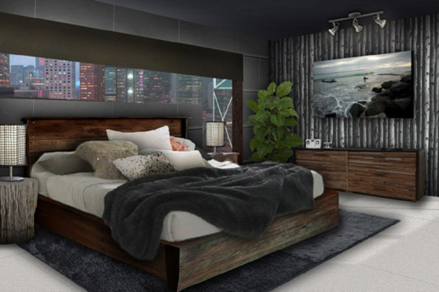 15 Dark Bedroom Designs For Dramatic Atmosphere