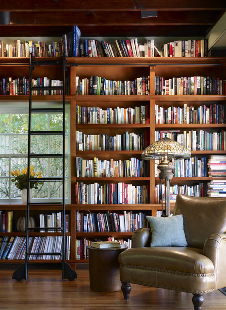 17 Gorgeous Built-In Home Library Designs That Will Attract Your Attention